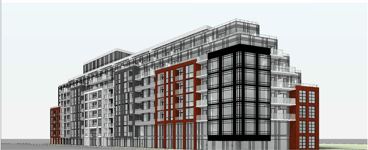 1615-1641 Kingston Road, Toronto, designed by Kohn Partnership Architects for Altree Developments