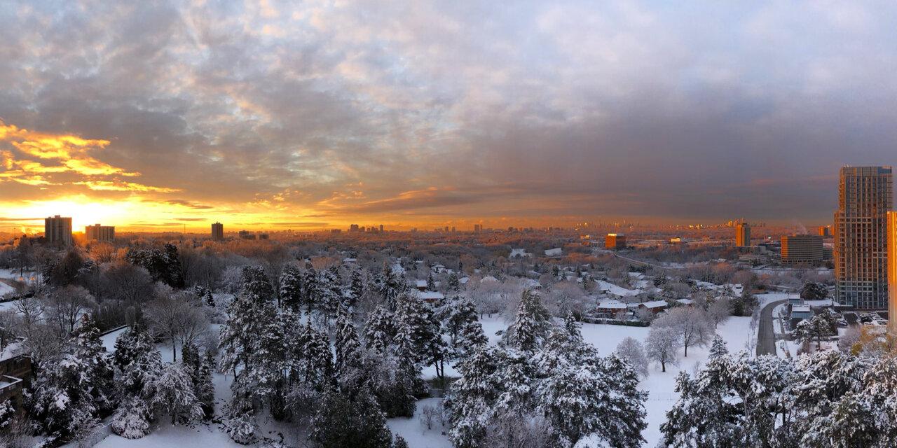 Daily Photo, Toronto, skyline, sunrise