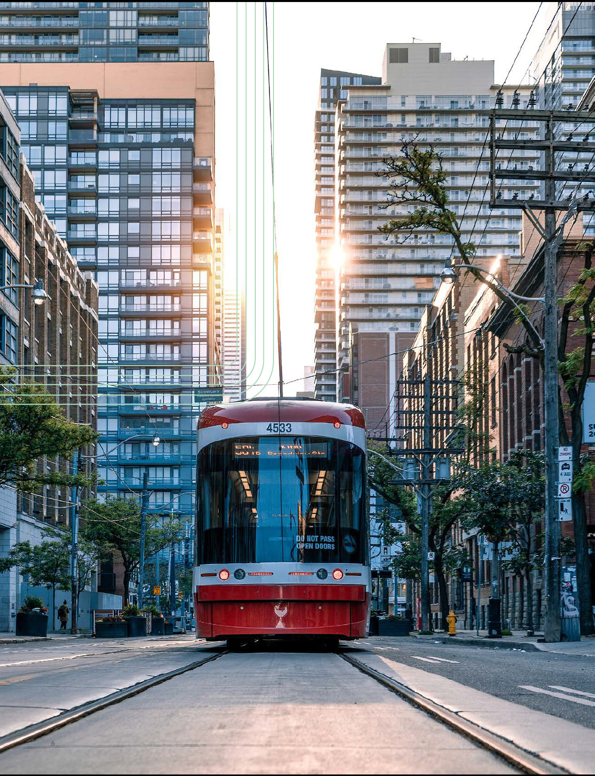Photo of TTC streetcar