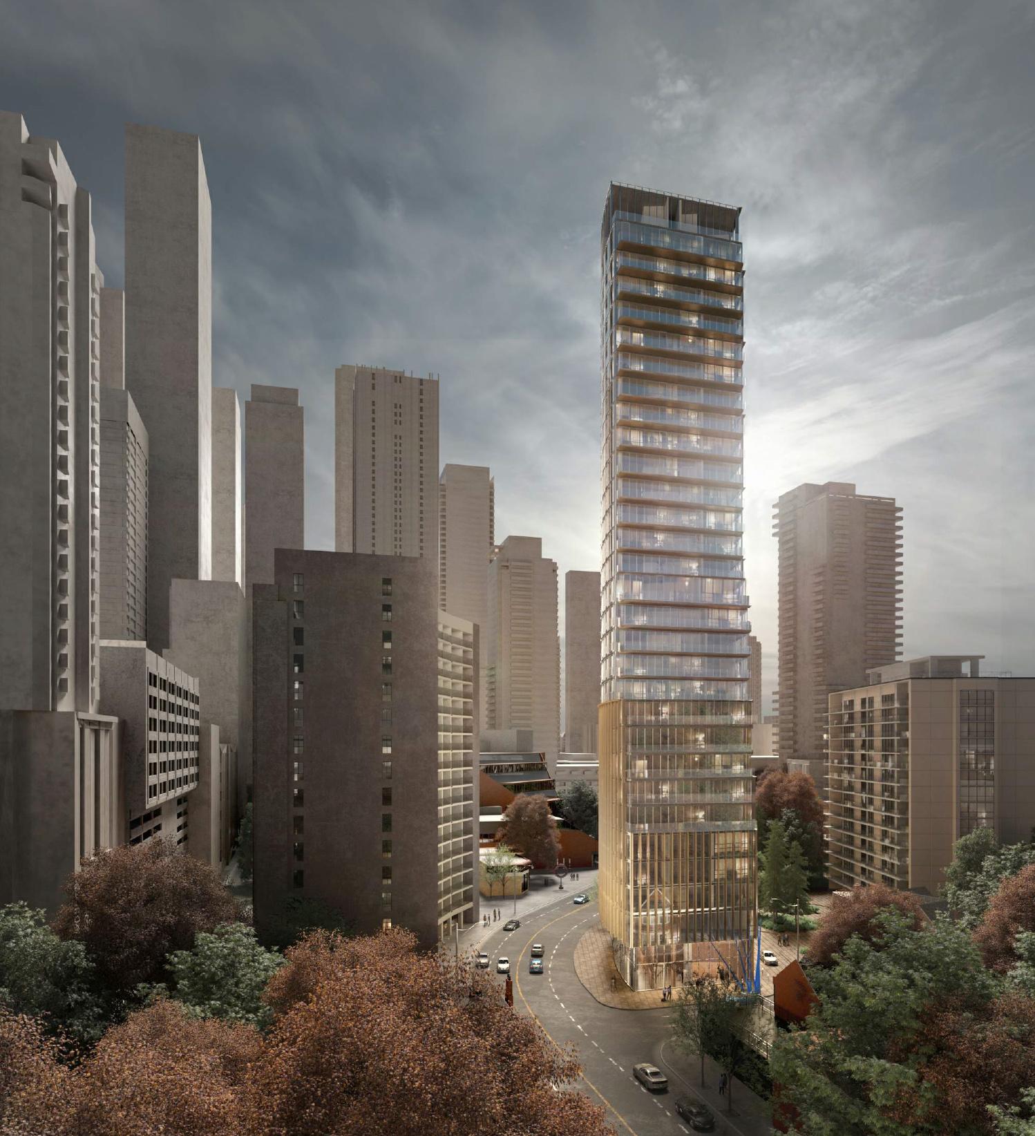717 Church St., Toronto, designed by Diamond and Schmitt Architects for Capital Developments.