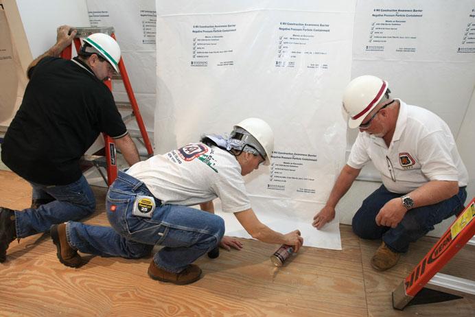 Long term care centres, LTC renovation, CDCO, Carpenters Union, Local 27, Toronto, Ontario