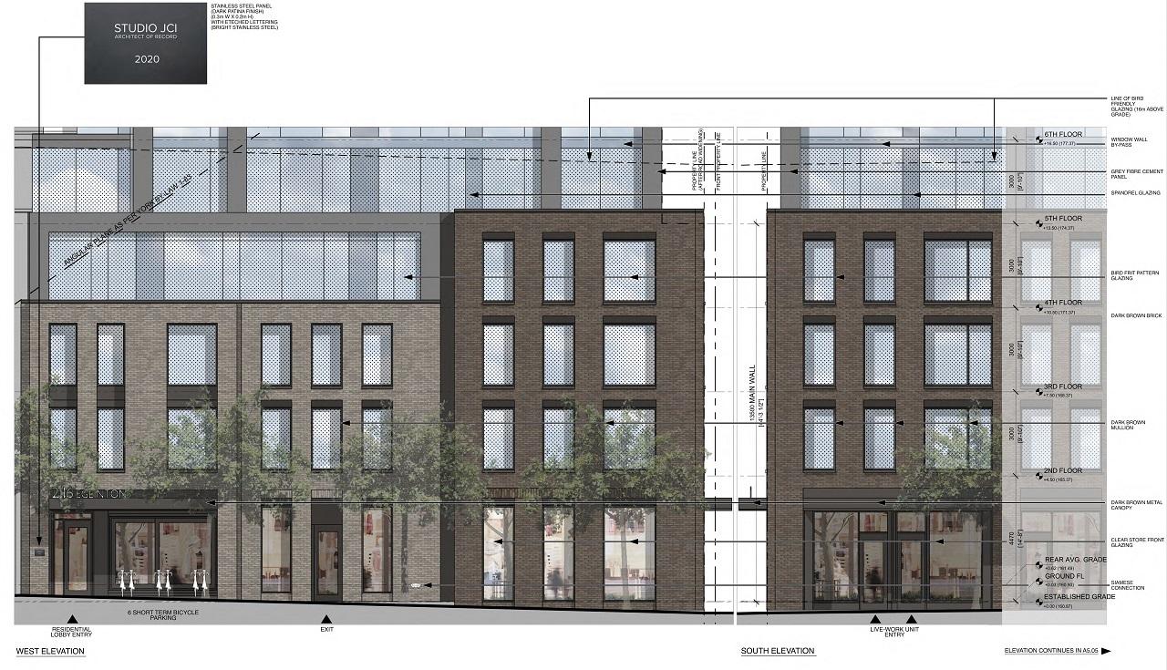 2116 Eglinton West, Toronto, designed by Studio JCI for Old Stonehenge