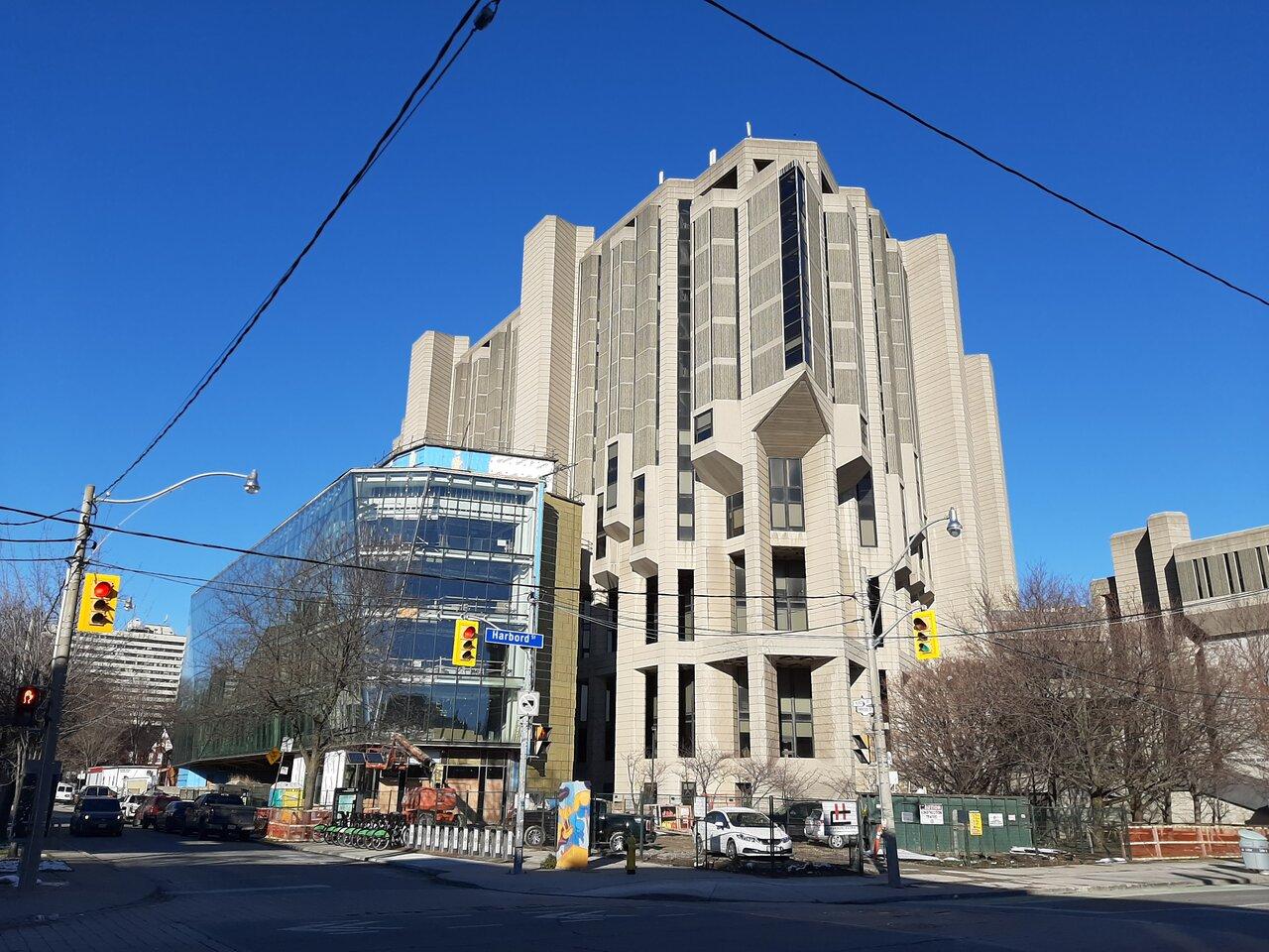 Robarts Common, University of Toronto, Diamond Schmitt Architects