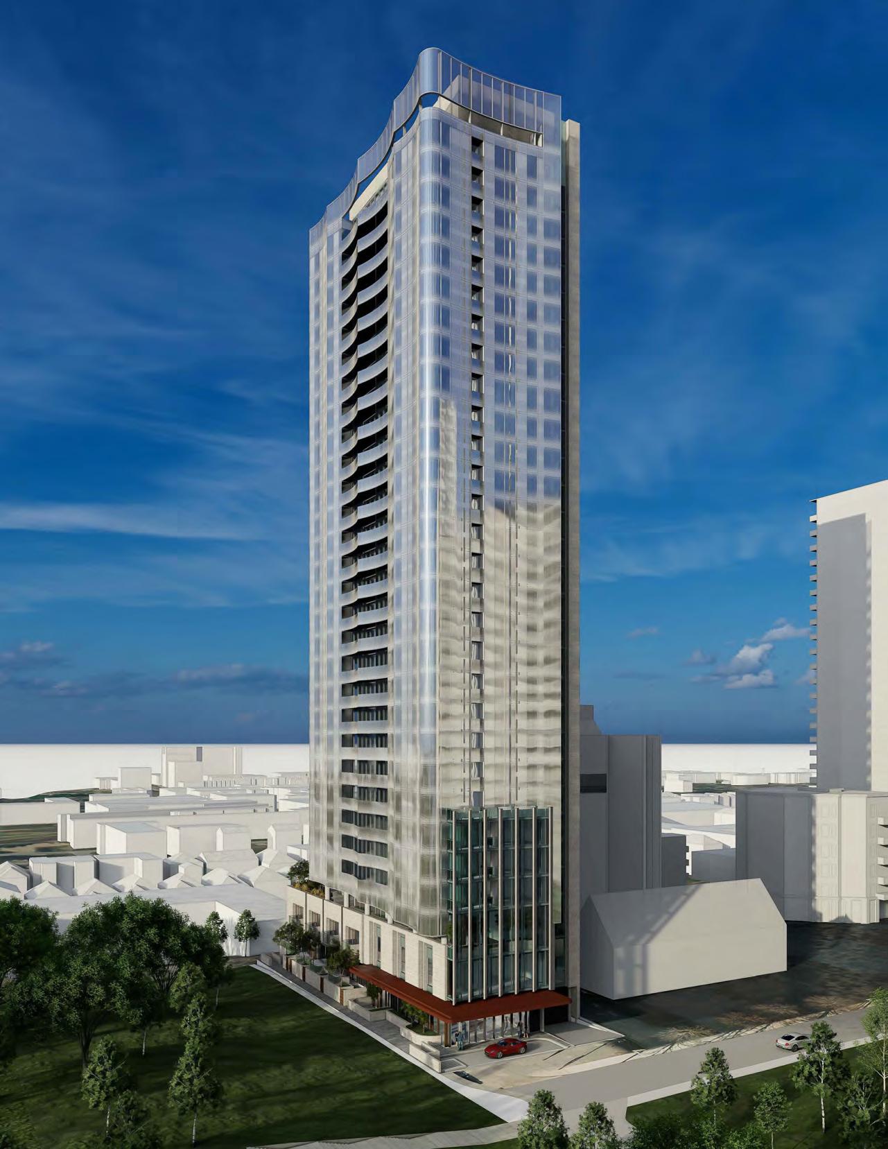 49 Jackes Avenue, Toronto, designed by Hariri Pontarini Architects for Lifetime Developments