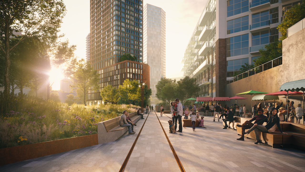 King Liberty, Liberty Village, Toronto, designed by BDP Quadrangle for First Capital