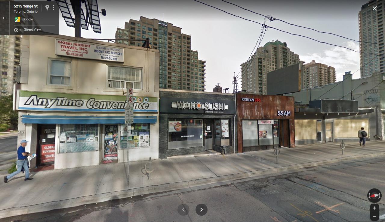 5203-5215 Yonge Street, Toronto, designed by IBI Group for Inmino Developments.