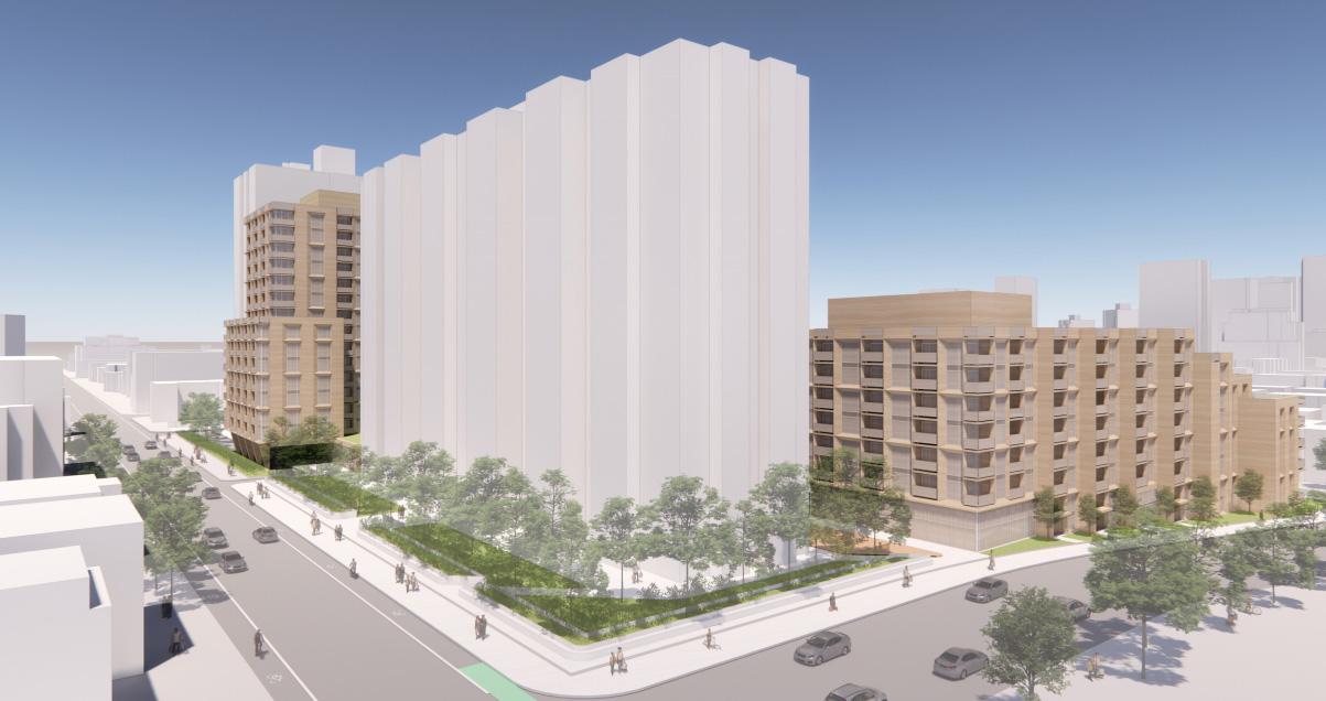 191 Sherbourne Street, Toronto, designed by Zeidler Architecture Inc.