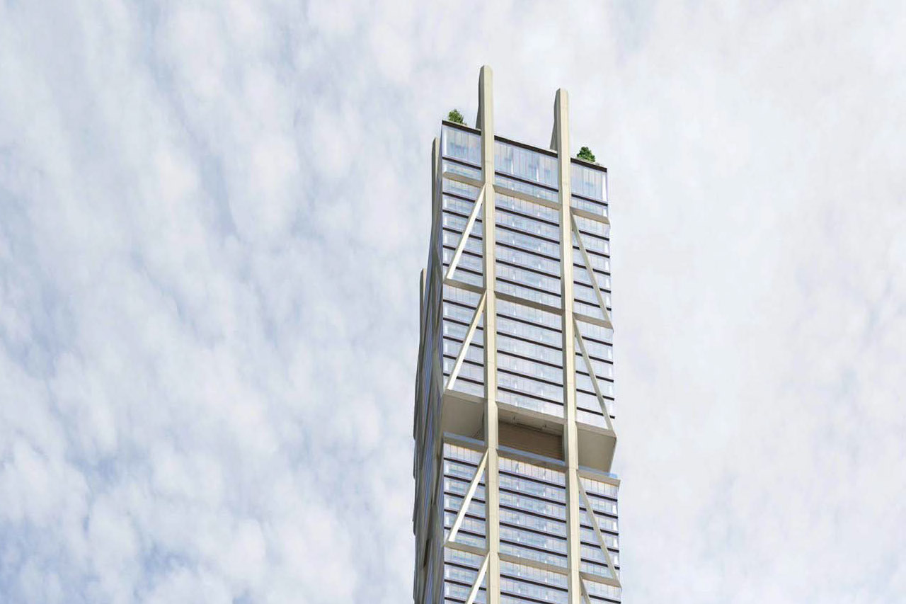 The One, Toronto, designed by Foster + Partners and Core Architects for Mizrahi Developments