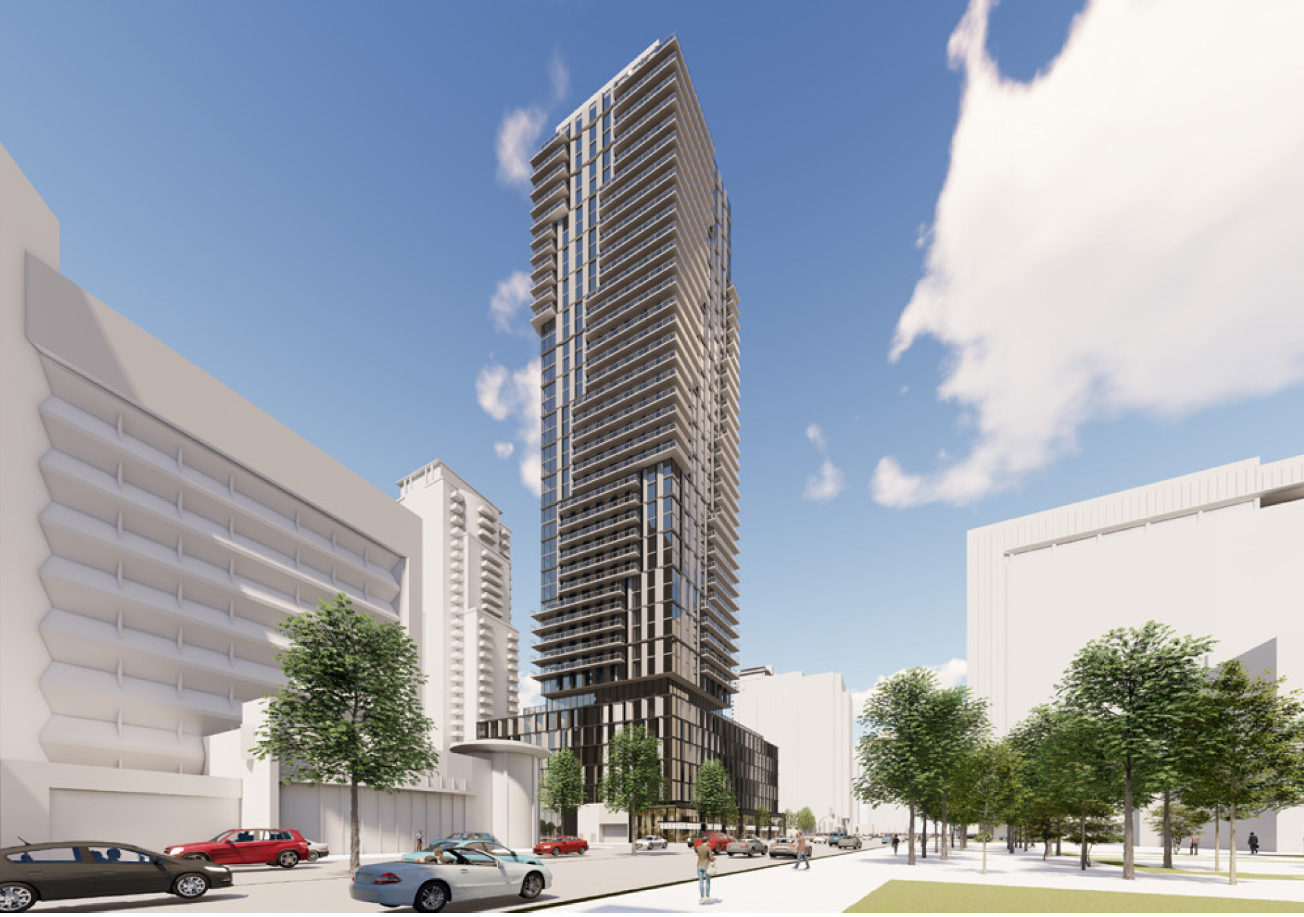 5051-5061 Yonge Street, Toronto, designed by Kirkor Architects and Planners for First Capital REIT.