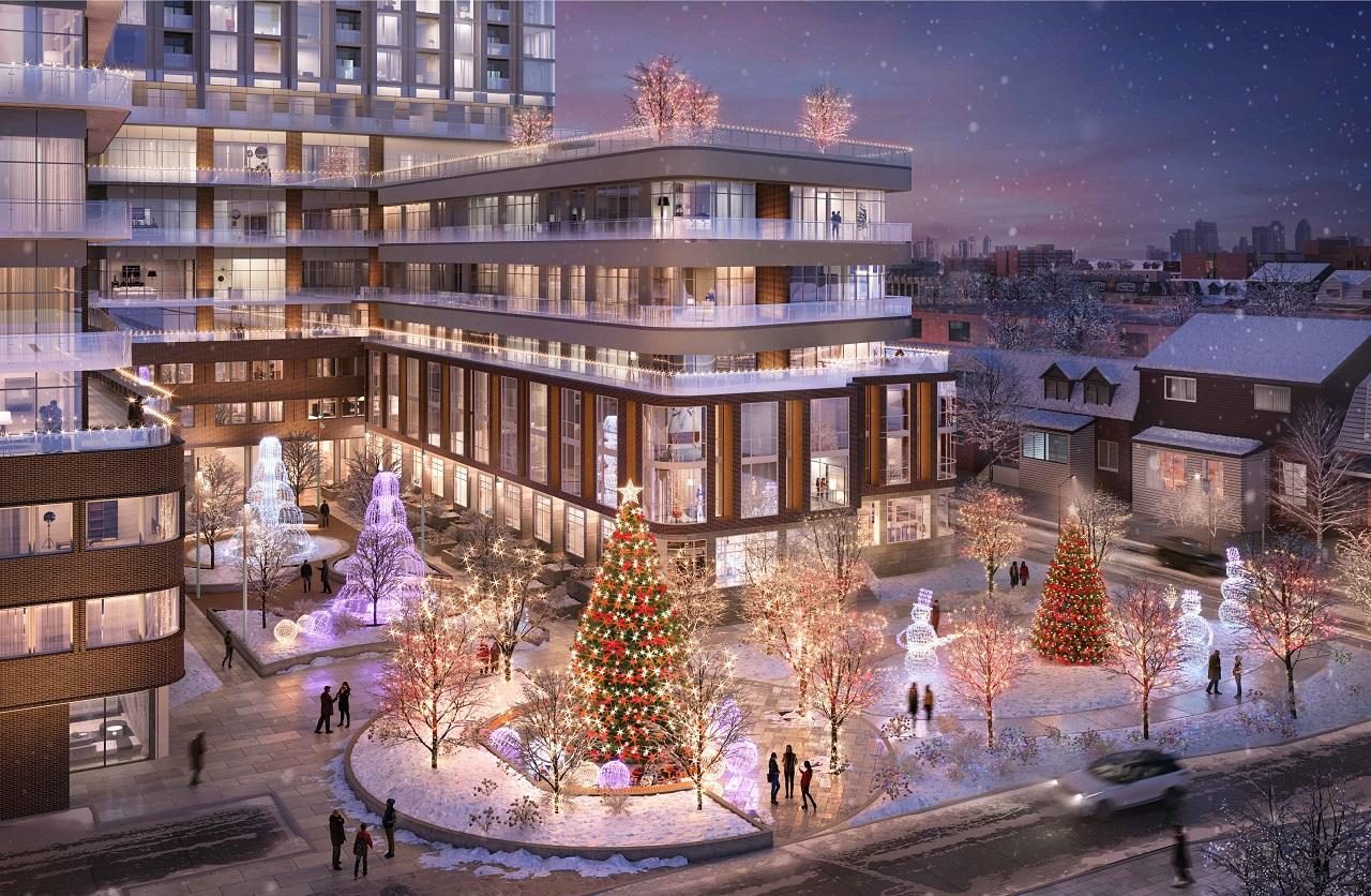 1319 Bloor West, Toronto, designed by Hariri Pontarini Architects for KingSett Capital