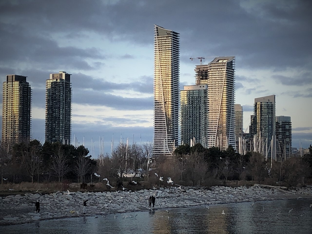Daily Photo, Toronto, skyline, Humber Bay Shores