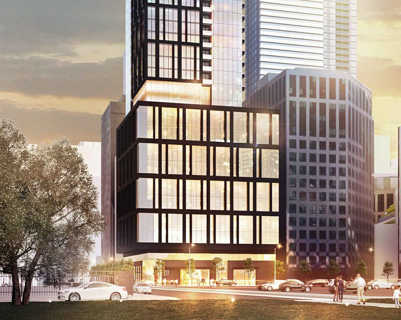 277 Wellington West, Toronto, designed by IBI Group for Reserve Properties