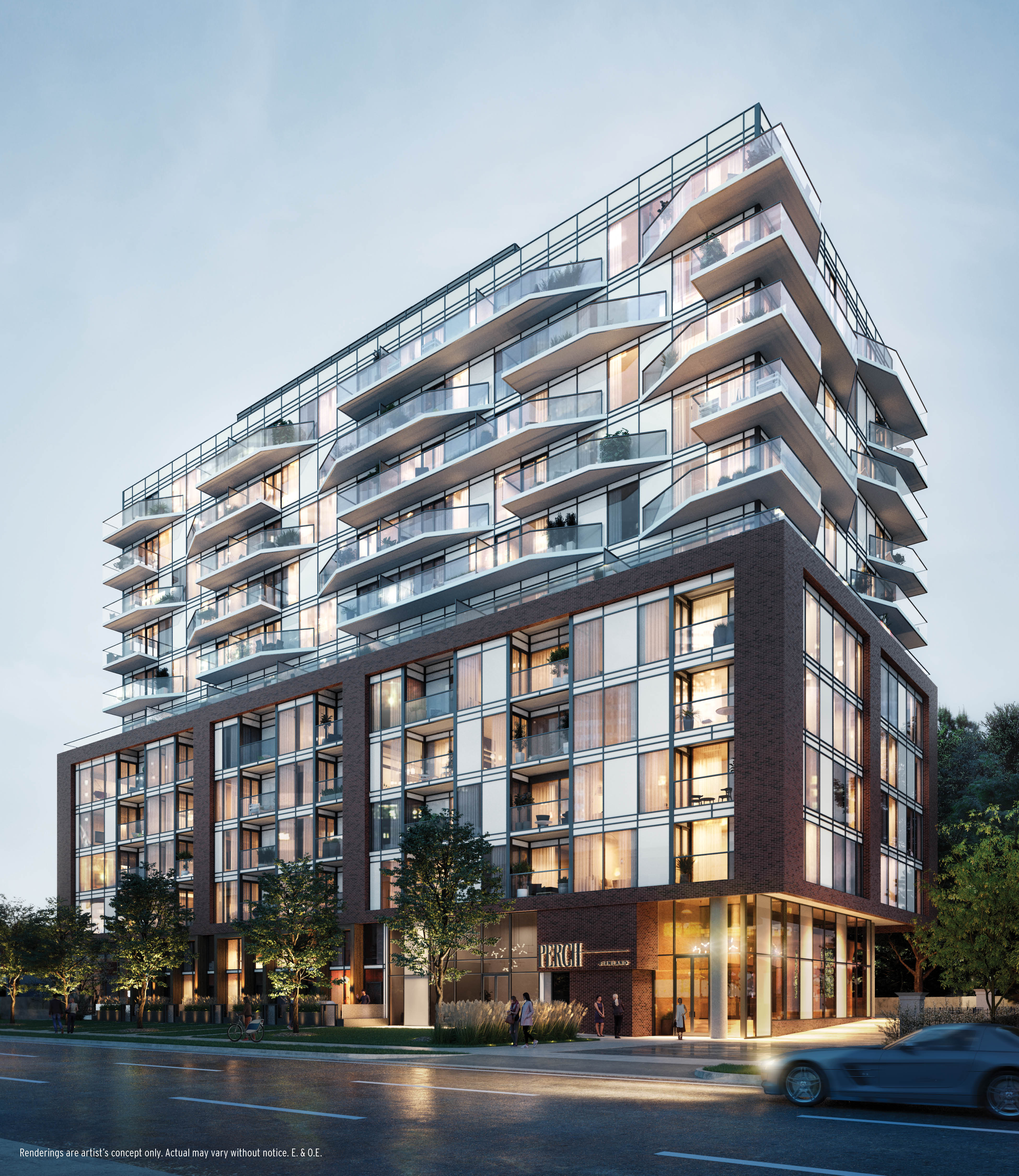Perch Condominiums, Firmland Developments Corp., Core Architects, Cecconi Simone, Toronto