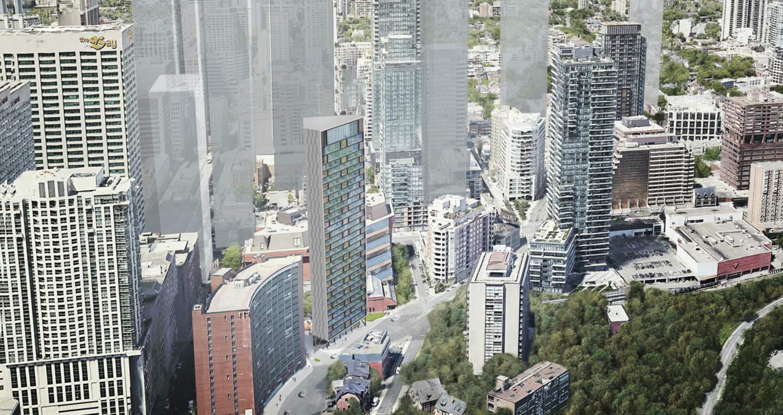 820 Church Street, Toronto, designed by IBI Group.