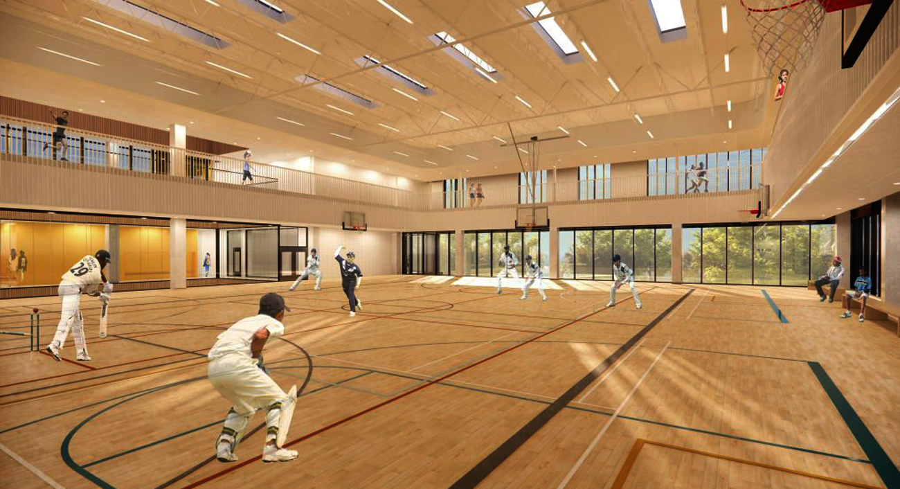 Floor Three Indoor Gymnasium, image via submission to City of Toronto