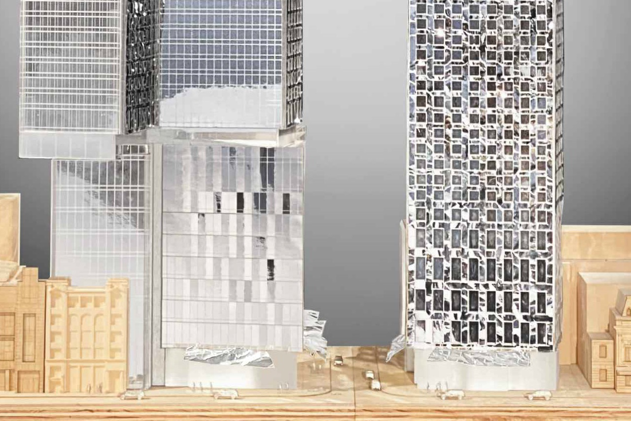 Mirvish+Gehry Toronto, designed by Gehry Partners for Great Gulf, Dream, and Westdale Propteries