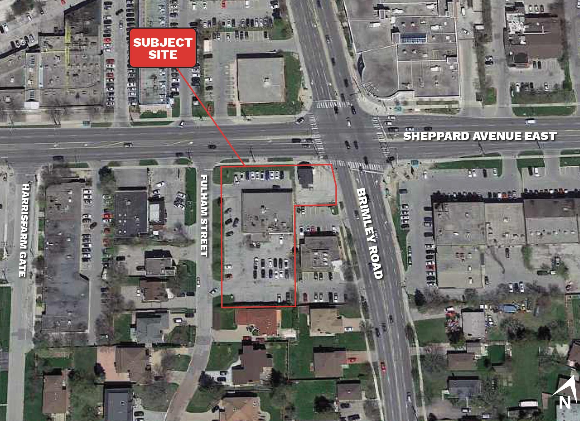4415-4421 Sheppard Avenue East, Toronto, designed by IBI Group for Wintrup Developments.