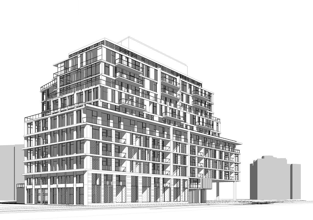 3374 Keele, Toronto, designed by Kirkor Architects