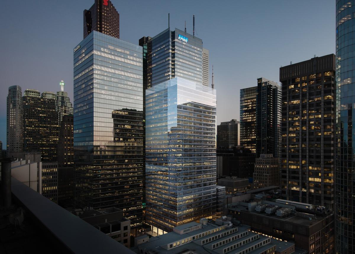 Scotiabank North Tower at Bay Adelaide Centre, Brookfield, Toronto, KPMB, Adamson