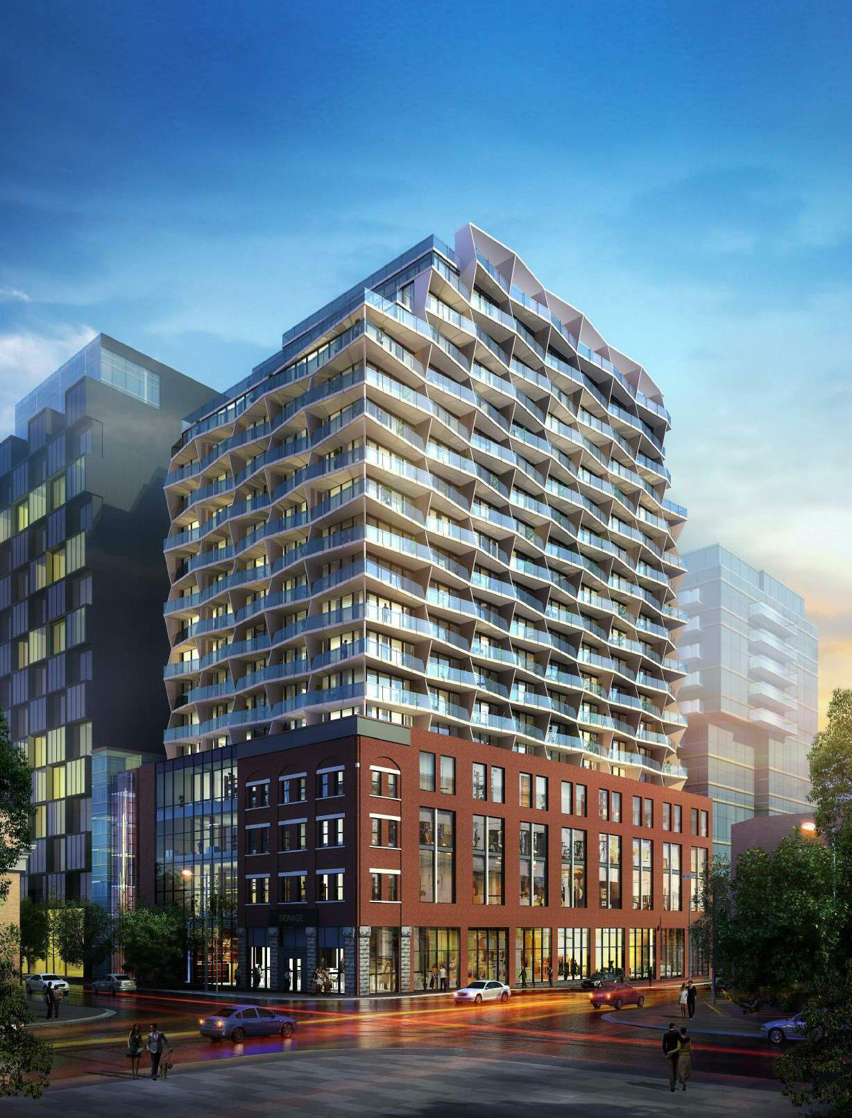 663 King Street West, Toronto, designed by Diamond Schmitt Architects for Main and Main