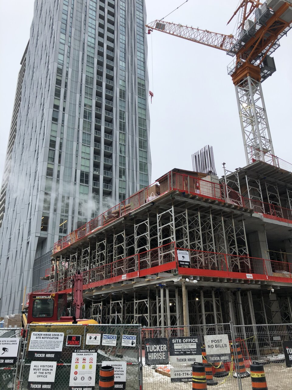 Eight Cumberland, Toronto, Great Gulf, Phantom, architectsAlliance