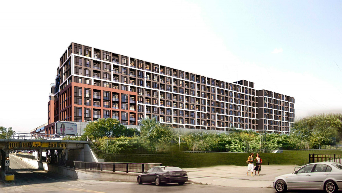 840 Dupont Street, Toronto, designed by Turner Fleischer Architects Inc. for Tridel.
