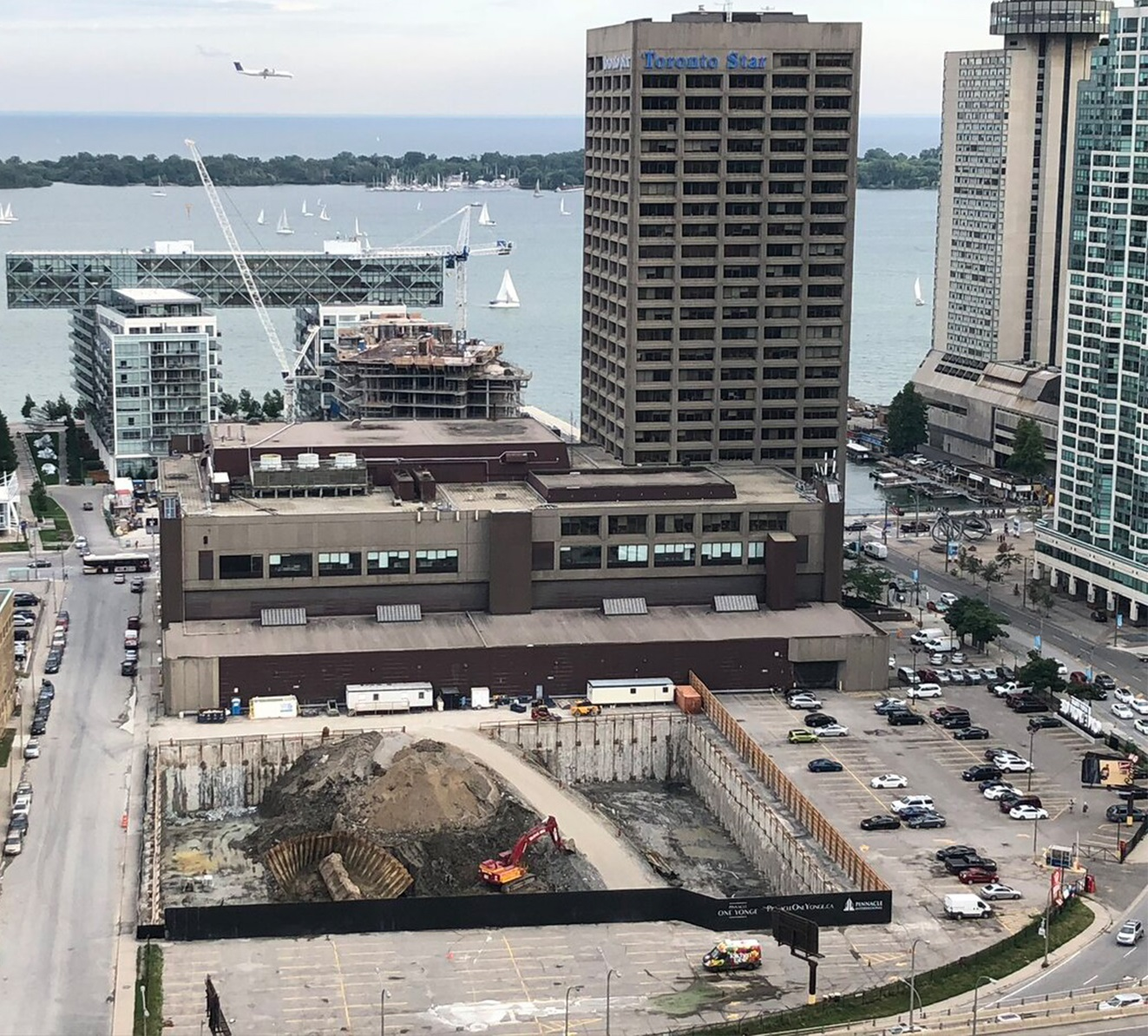 Throwback Thursday, Pinnacle One Yonge, Tower at Pier 27, Toronto