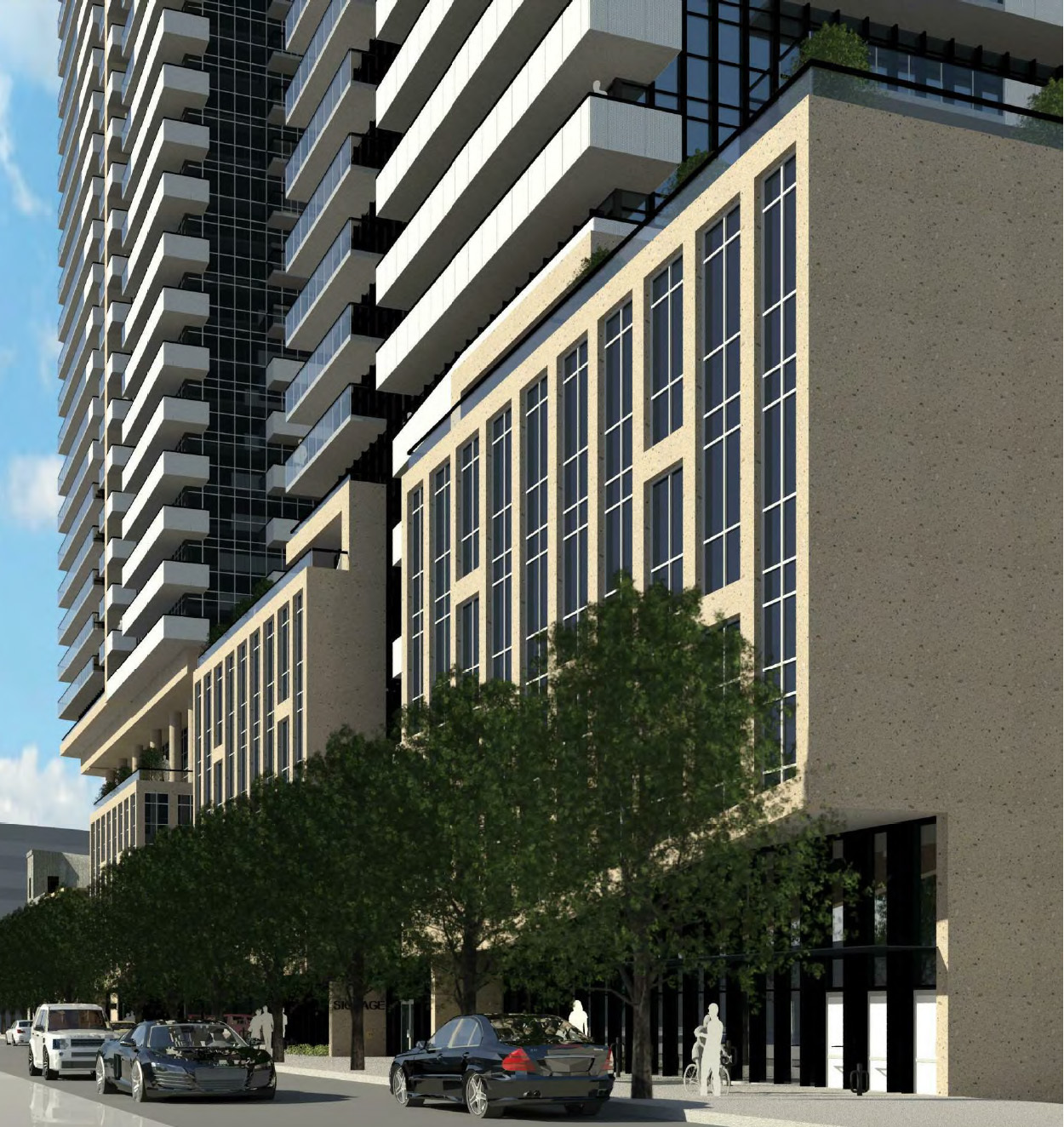 10-30 Dawes Rd, Toronto, designed by IBI Group for Marlin Spring Developments