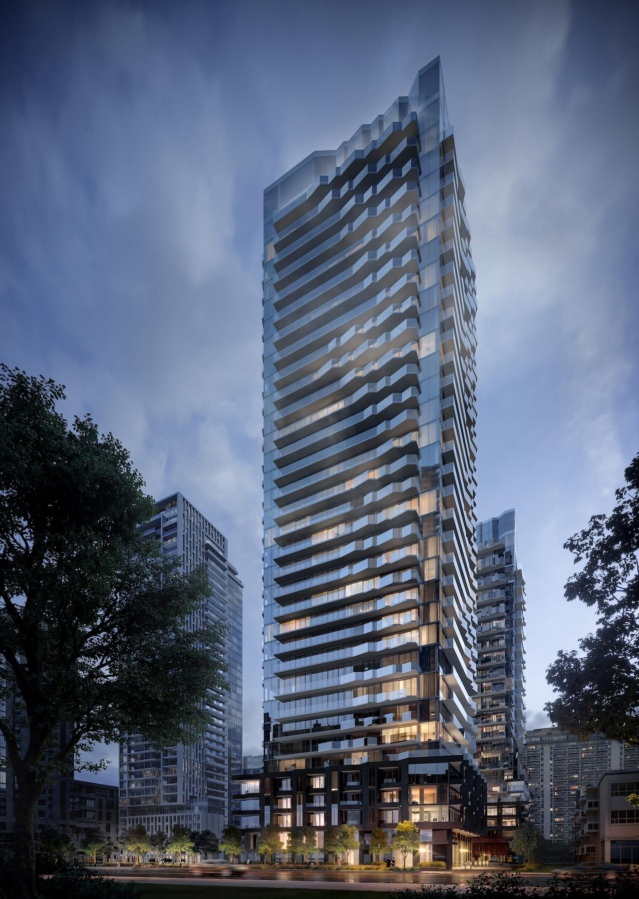 Untitled Toronto, designed by IBI Group for Reserve Properties and Westdale Properties