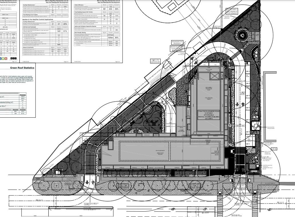 1744 Ellesmere Road, Toronto, designed by CGL Architects Inc. for Verdiroc Development Corp./Fineway Properties