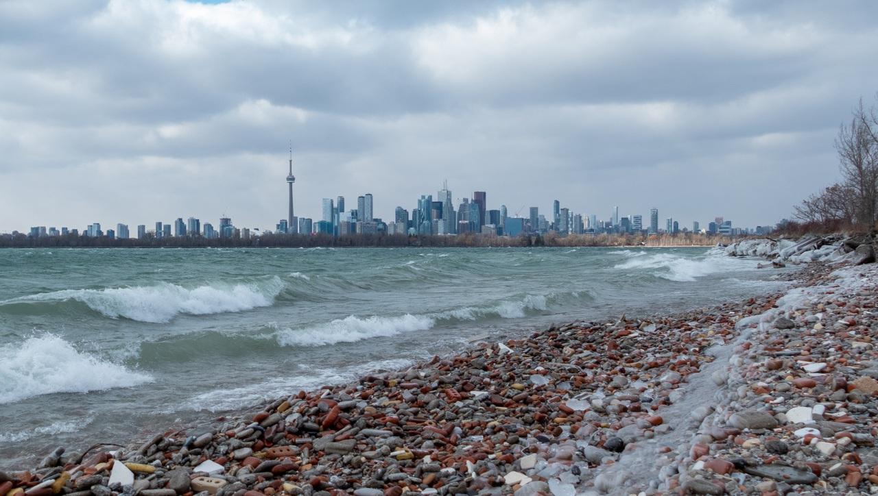 Daily Photo, Toronto, skyline, Leslie Street Spit, Tommy Thompson Park