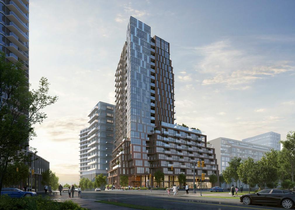 5509 Dundas Street West, Toronto, designed by BNKC for Contessa Developments