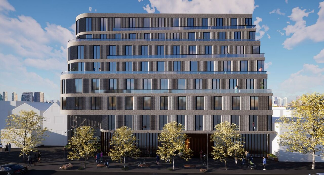 3194 Dundas Street West, Toronto, designed by BDP Quadrangle for Gairloch Developments