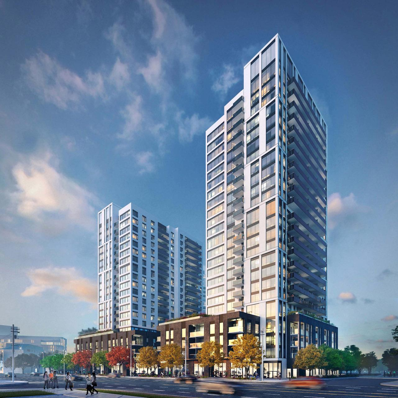 Kip District, BDP Quadrangle, Concert Properties, Toronto