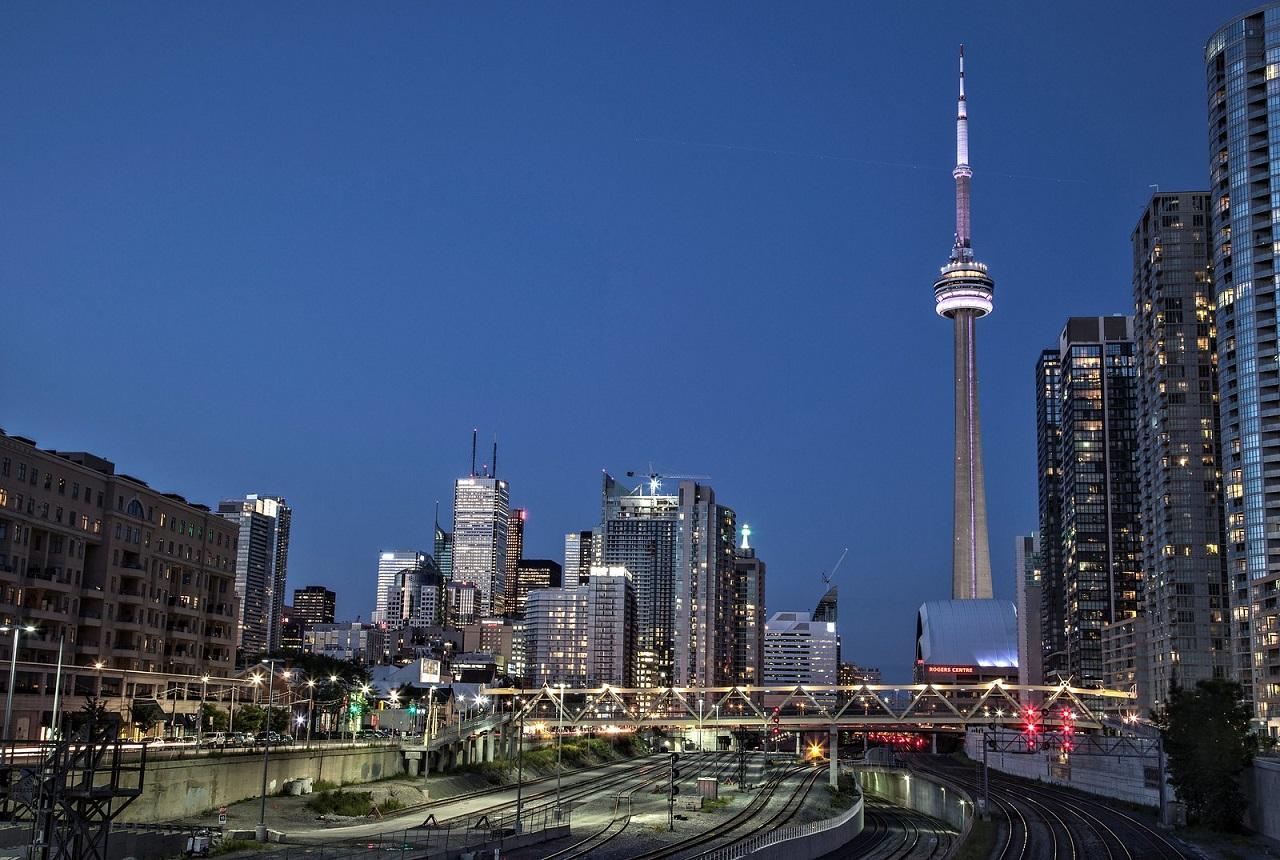 Throwback Thursday, Toronto skyline, Bathurst Bridge