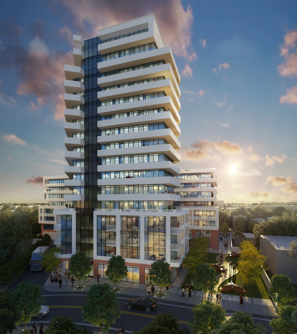 5-19 Cosburn Ave, IBI Group, City of Toronto