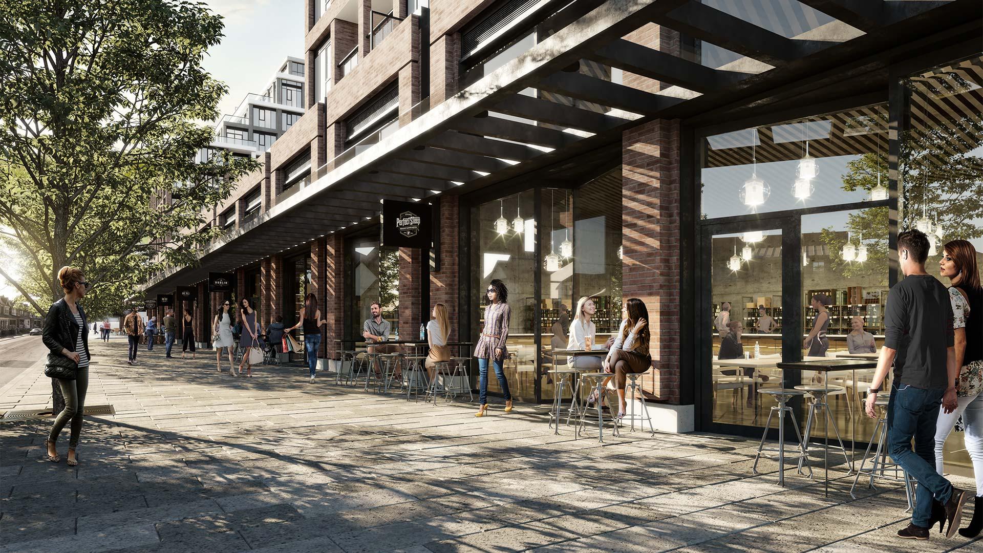 The Dupont, Tridel, Turner Fleischer Architects, Toronto