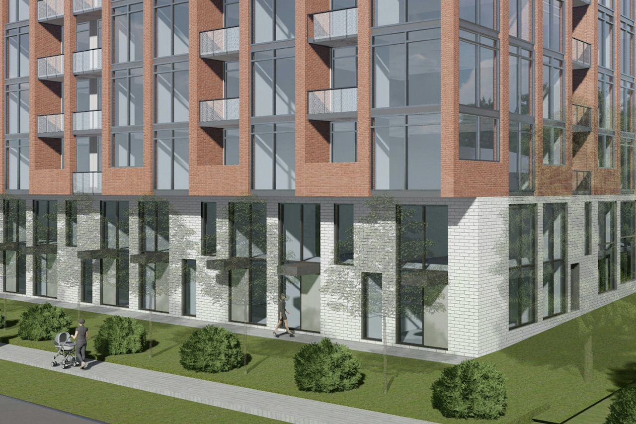 1184 Wilson Avenue, Toronto, designed by Architecture Unfolded for First Avenue Properties