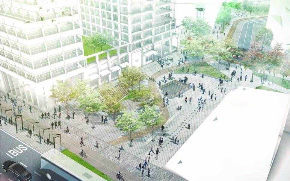 2150 Lake Shore Boulevard, First Capital, Allies and Morrison, Urban Strategies, Toronto