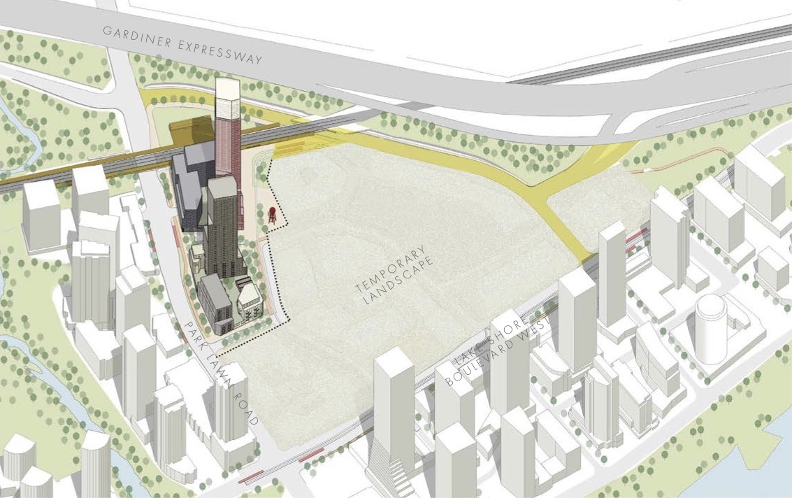Phase 1 at the 2150 Lake Shore development, Toronto, image by Allies and Morrison for First Capital