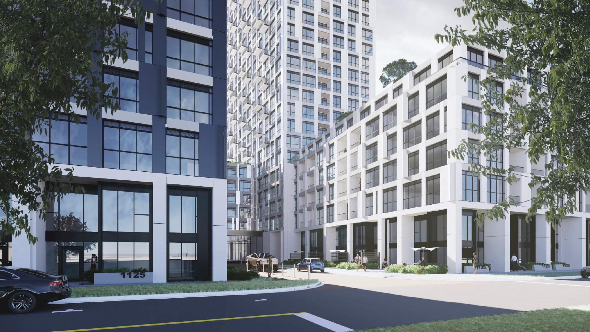 1125 Markham Road, Toronto, designed by Turner Fleischer Architects for Arya Corporation.