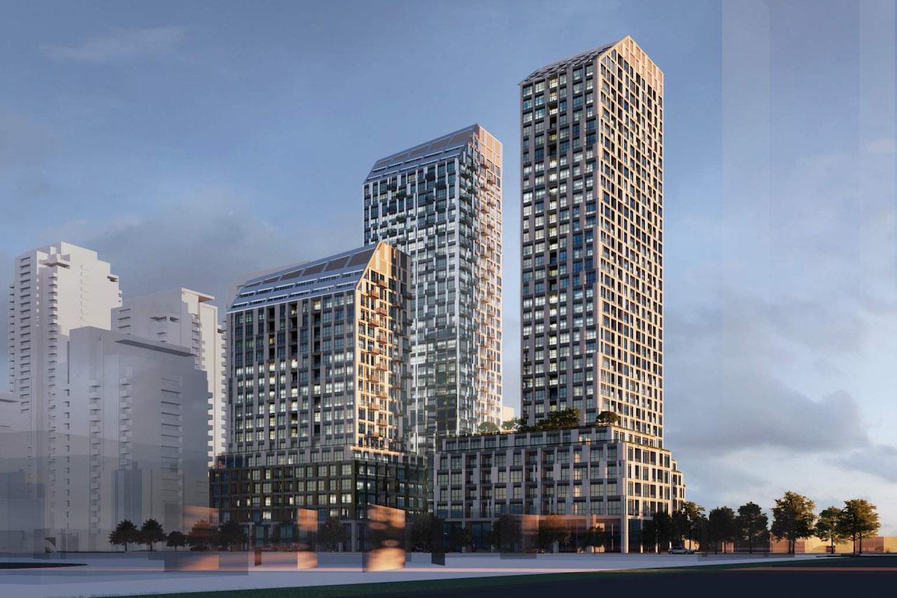 1125 Markham Road, Toronto, designed by Turner Fleischer Architects for Arya Corporation