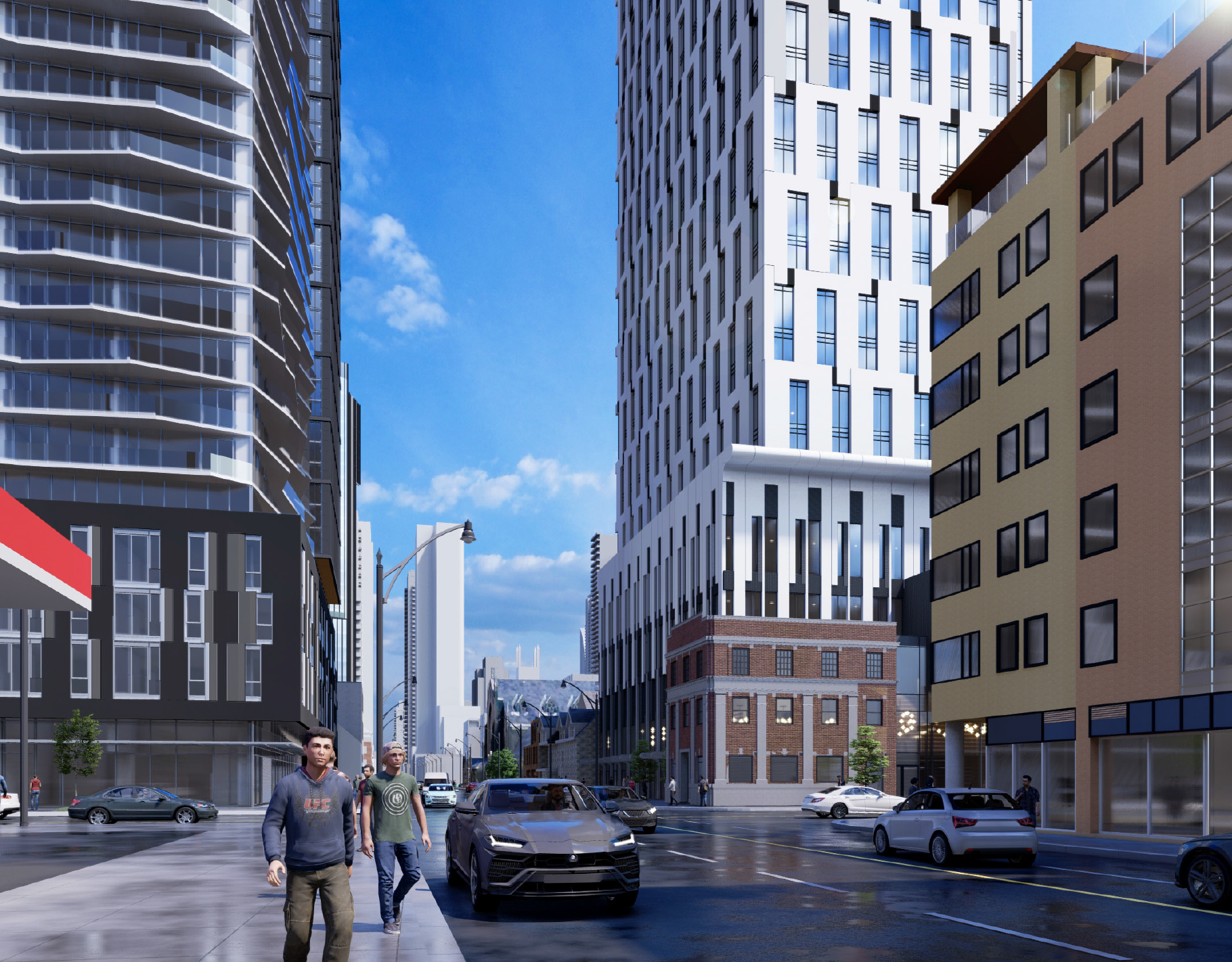 250 Church Street, Toronto, designed by IBI Group for CentreCourt.