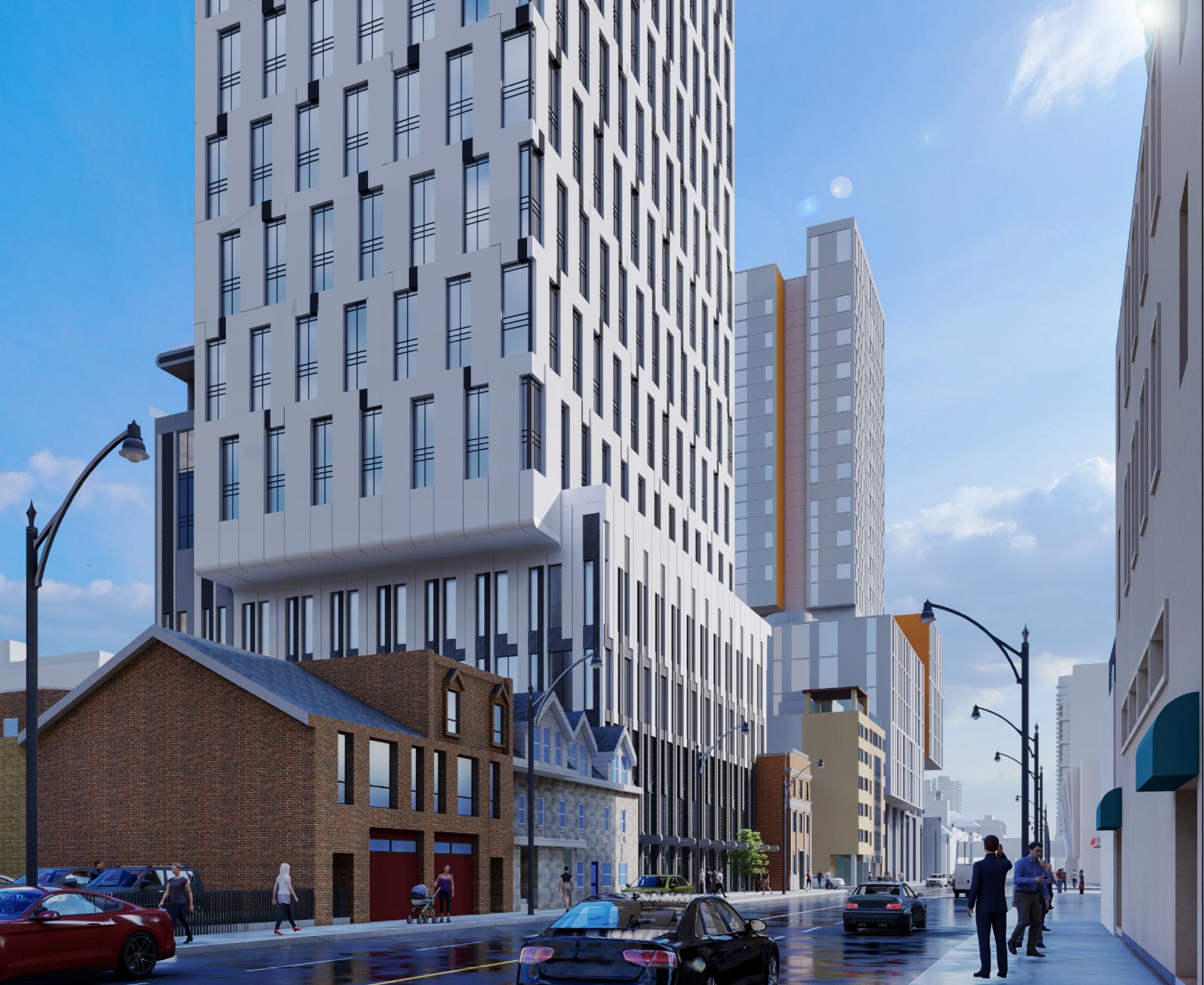 250 Church Street, Toronto, designed by IBI Group for CentreCourt