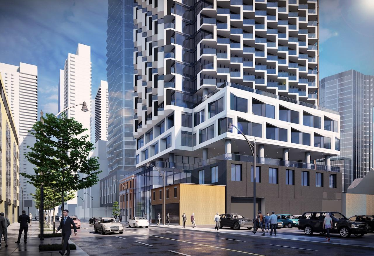 250 Church Street, Toronto, designed by IBI Group for CentreCourt
