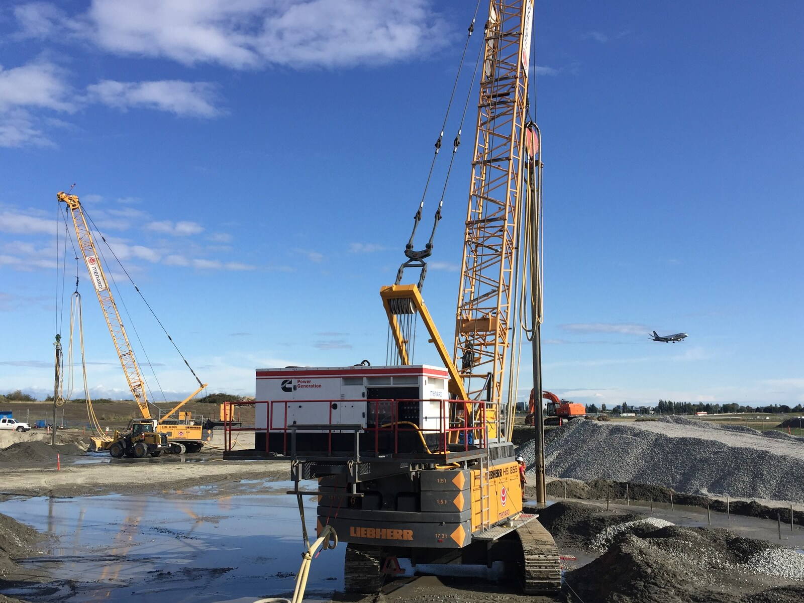 ground improvement, Menard Canada, construction foundations