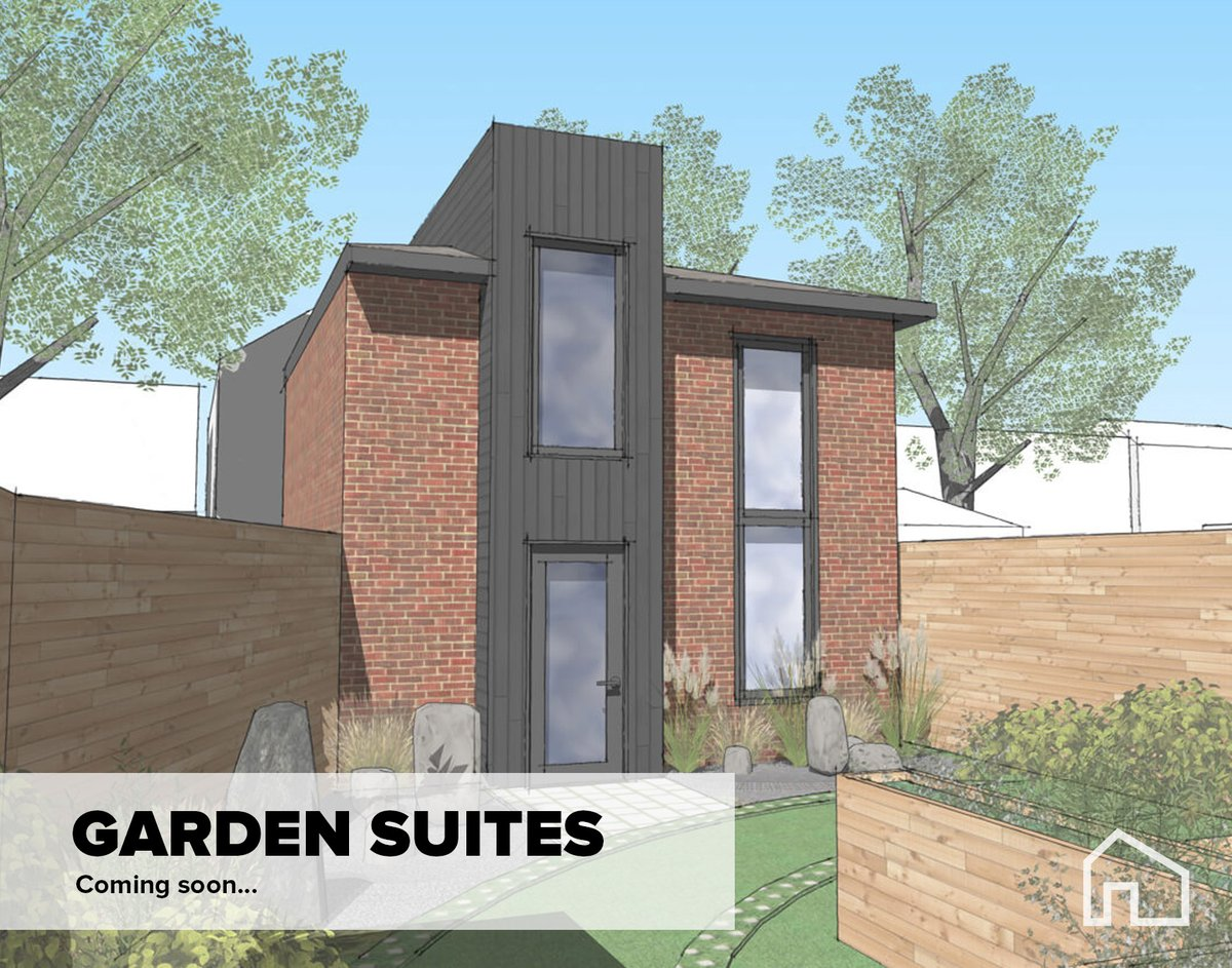 Housing options for neighbourhoods, Garden Suites, City of Toronto, Ontario