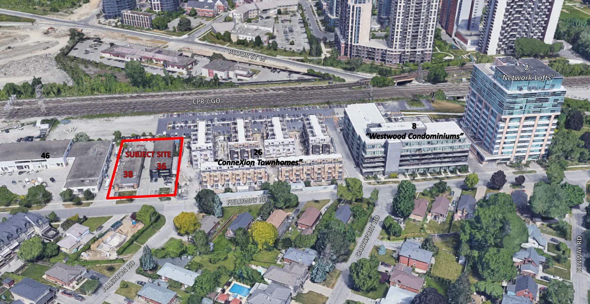 36 Fieldway Road, Toronto, designed by Richmond Architects Ltd. for Alterra Developments.