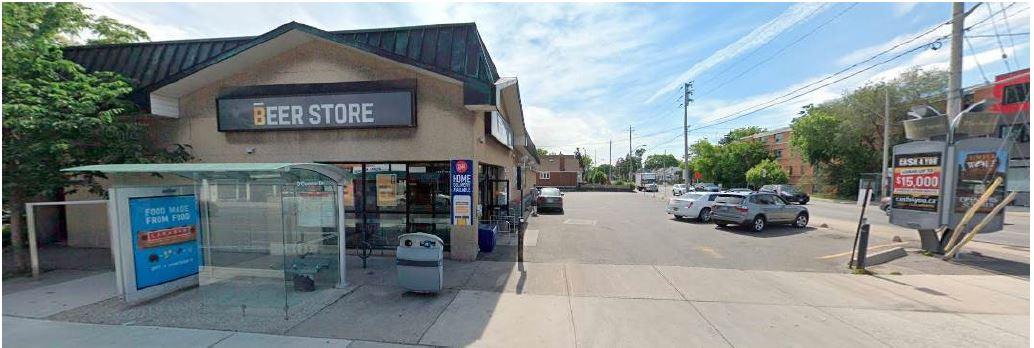 Current Site, 380 Donlands, Toronto
