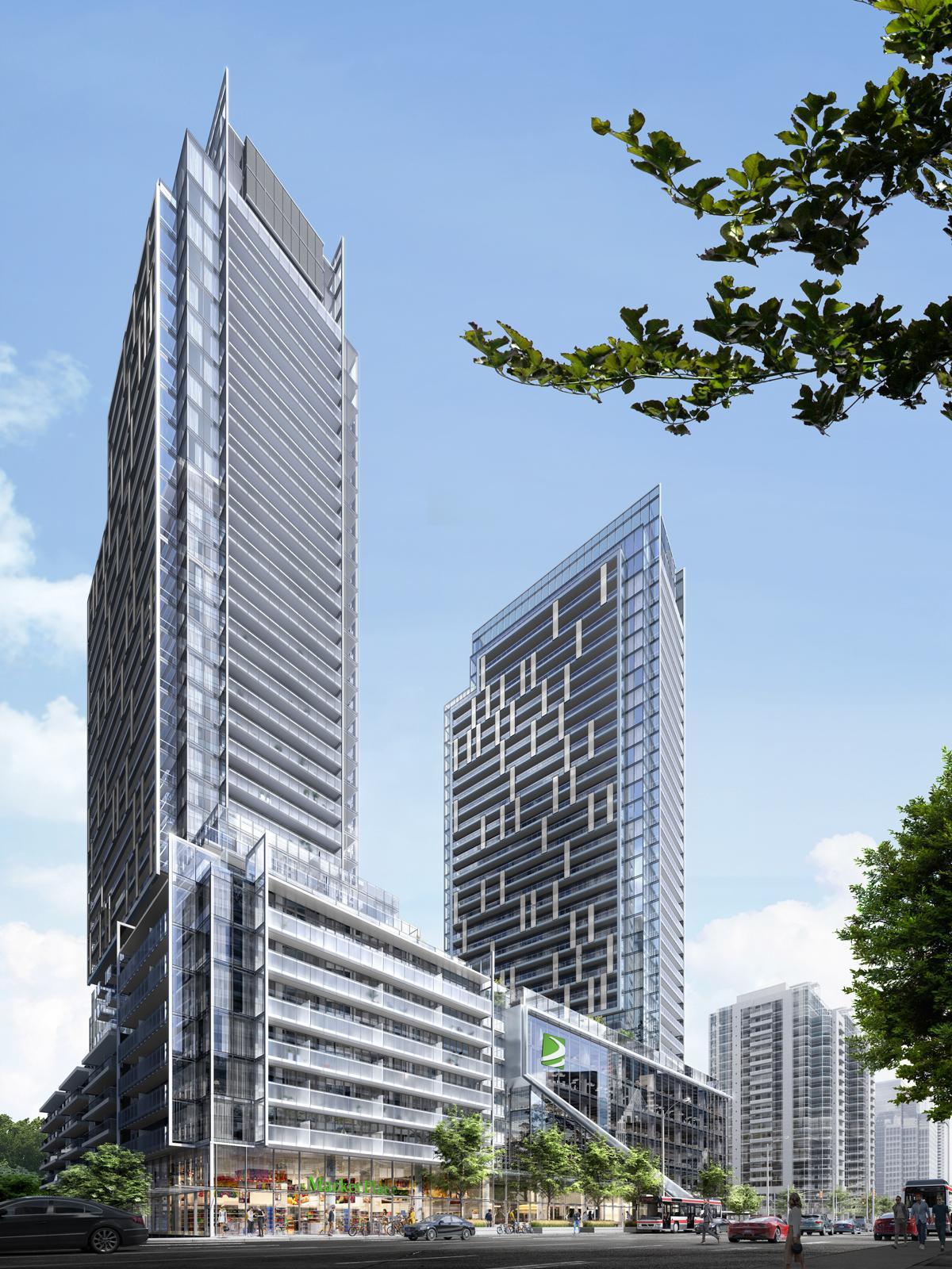 M2M Condos, Aoyuan International, Wallman Architects, Toronto